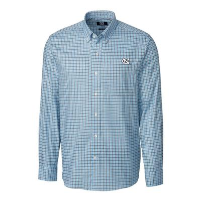UNC Cutter and Buck Lakewood Long Sleeve Woven
