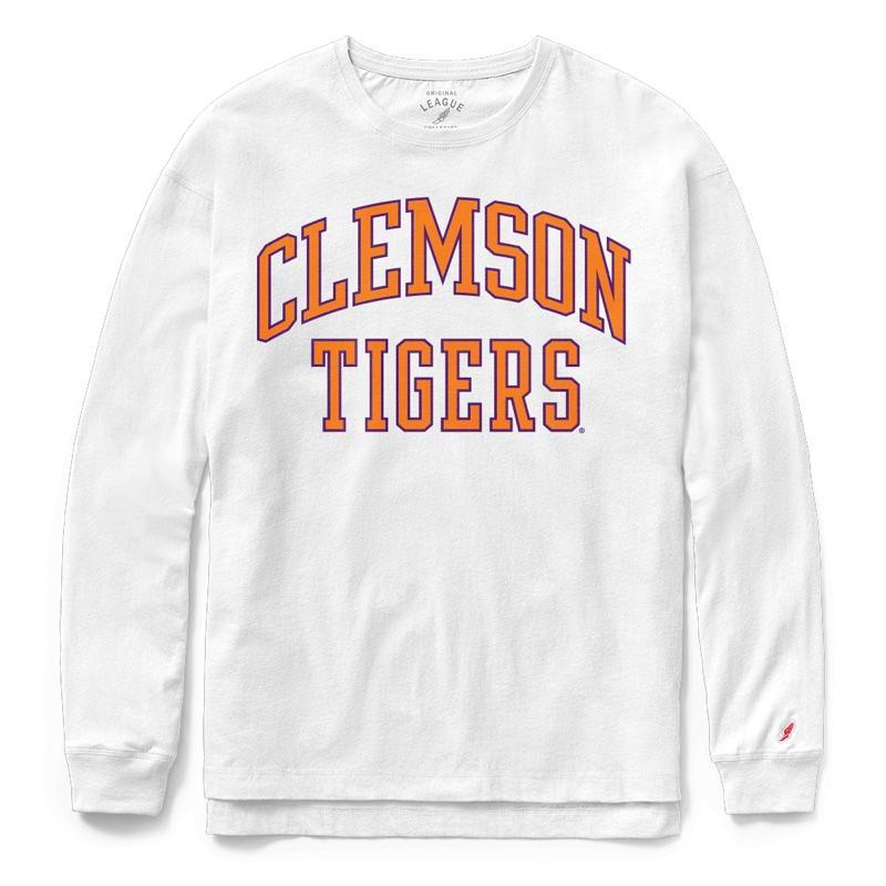 Clemson League Women's Clothesline Long Sleeve Top