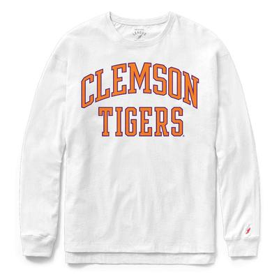 Clemson League Women's Clothesline Long Sleeve Top