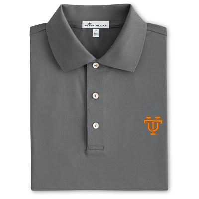 Tennessee Peter Millar Vault Logo Solid Stretch Polo