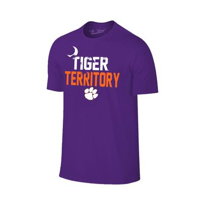 Clemson Tiger Territory Palmetto Short Sleeve Tee