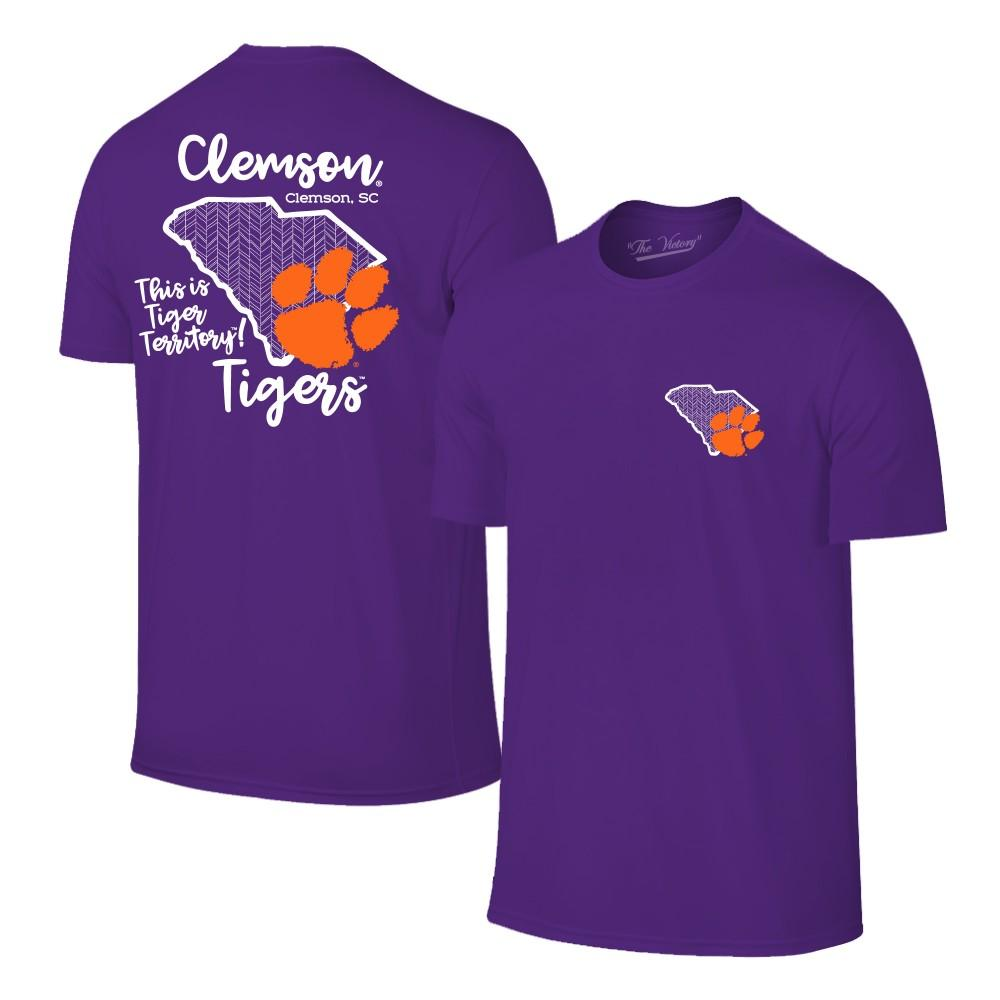 Clemson Paw State Short Sleeve Tee
