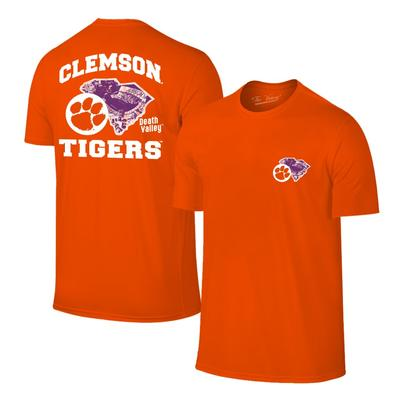 Clemson Death Valley Short Sleeve Tee