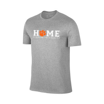 Clemson Home Short Sleeve Tee GREY