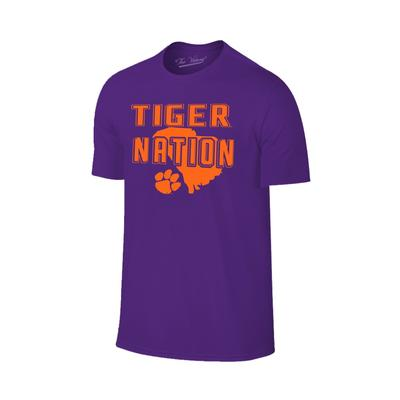 Clemson Tiger Nation State Tee