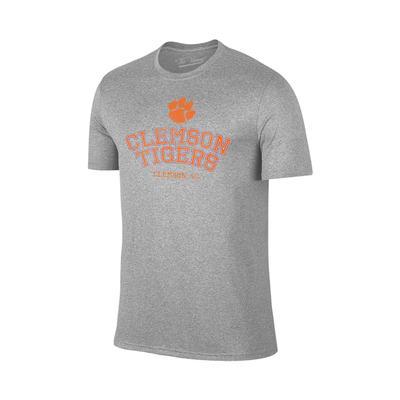 Clemson Double Arch Logo Tee