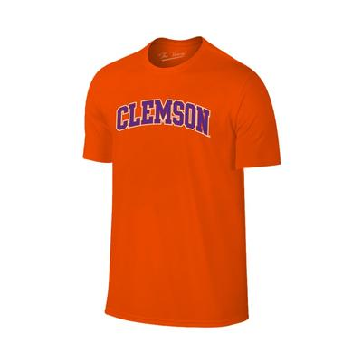 Clemson Arch Outline Short Sleeve Tee