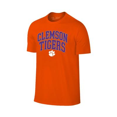 Clemson Tigers Double Arch with Paw Tee Shirt
