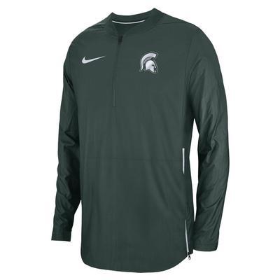 Michigan State Nike Lockdown 1/4 Jacket