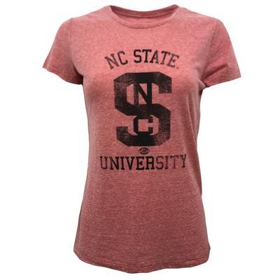 NC State Retro Brand Melanie Arch Tee