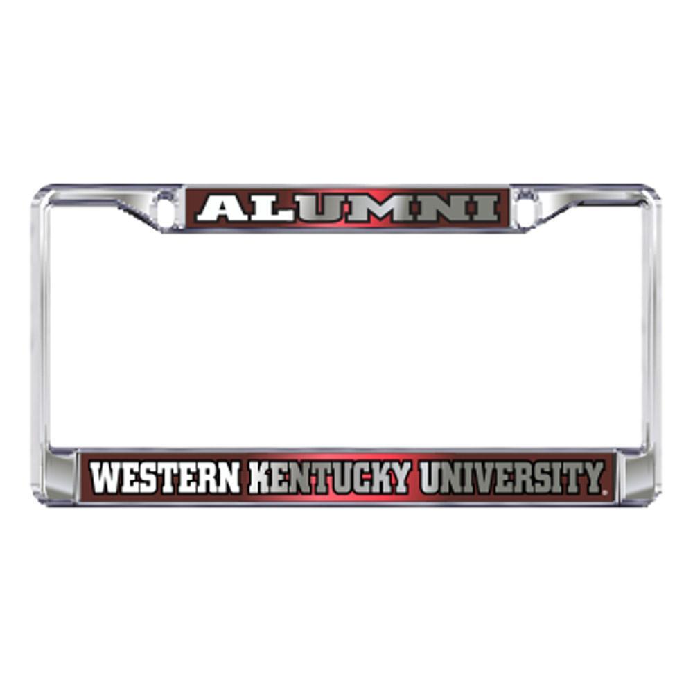 Western Kentucky License Plate Frame Alumni