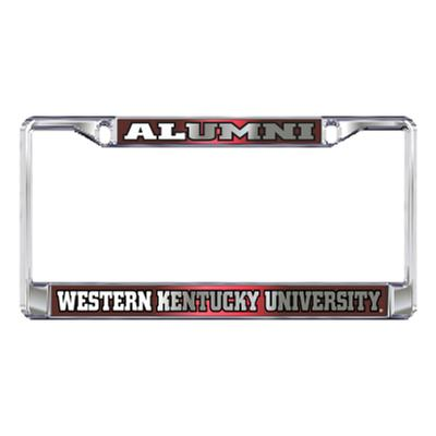 Western Kentucky License Plate Frame Alumni