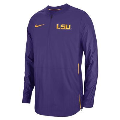 LSU Nike Lockdown 1/4 Jacket