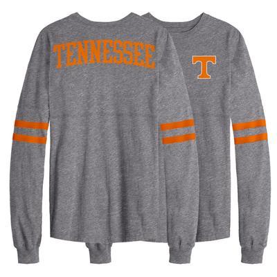 Tennessee League Sporty Stripe Rah Rah Long Sleeve Tee