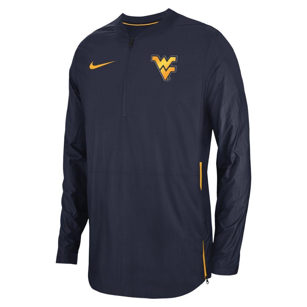 West Virginia Nike Lockdown 1/4 Jacket