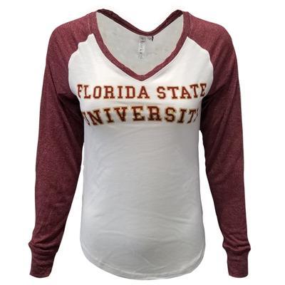 Florida State Chicka-D Raglan Baseball Tee