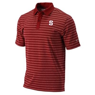 NC State Columbia Golf Gamer Polo