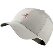 Alabama Nike Golf Dri- Fit Retro Script A Logo Tech Cap
