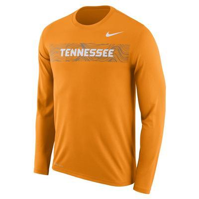 Tennessee Nike Dri-Fit Legend Long Sleeve Sideline Tee