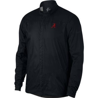 Alabama Nike Golf Men's Shield Golf Jacket BLACK
