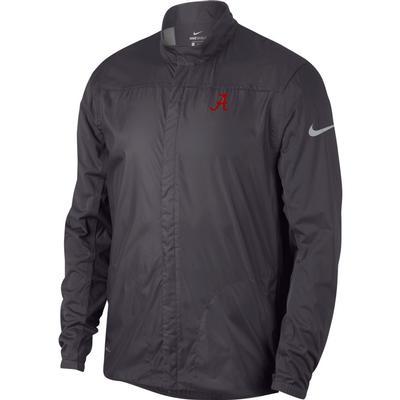 Alabama Nike Golf Men's Shield Golf Jacket GUNSMOKE