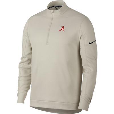 Alabama Nike Golf Therma Repel 1/2 Zip Pullover BONE