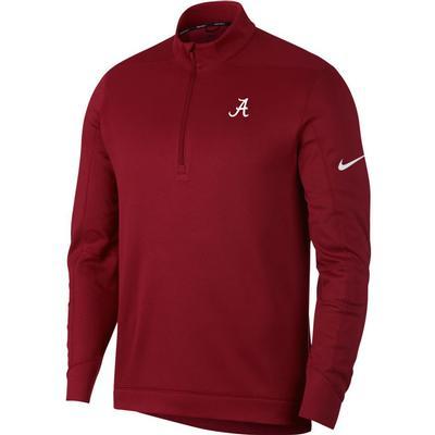 Alabama Nike Golf Therma Repel 1/2 Zip Pullover CRIMSON
