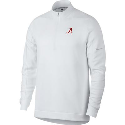 Alabama Nike Golf Therma Repel 1/2 Zip Pullover WHT