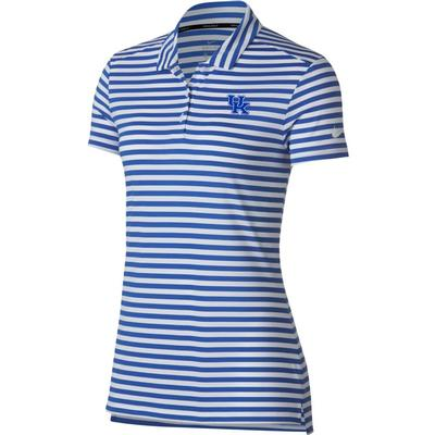 Kentucky Nike Golf Women's Dry Striped Polo