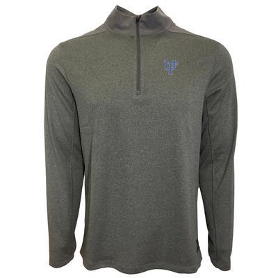Florida Nike Golf Interlock UF 1/2 Zip Golf Pullover GUNSMOKE