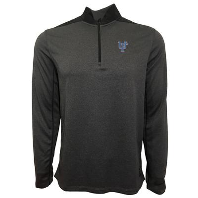Florida Nike Golf Interlock UF 1/2 Zip Golf Pullover THUNDER