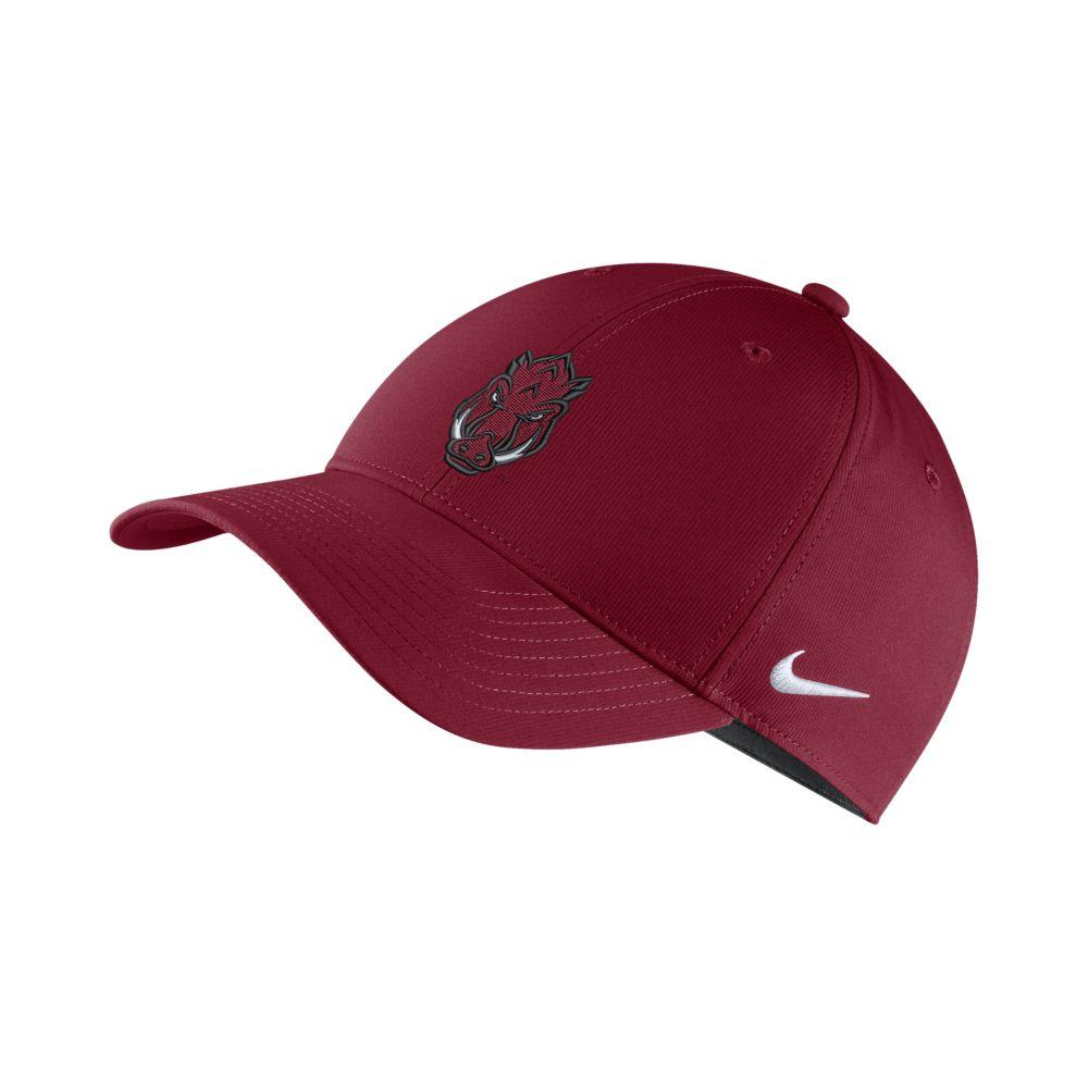 Arkansas Nike Dry Legacy91 Tech Adjustable Hat