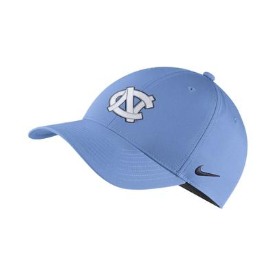 UNC Nike Dry Legacy91 Tech Adjustable Hat