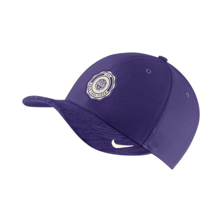 Lsu Nike Sideline Classic99 Adjustable Hat