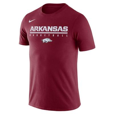 Arkansas Nike Legend Basketball Practice Tee