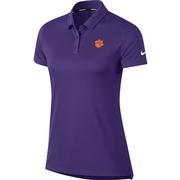 Clemson Nike Golf Women's Dry Solid Polo