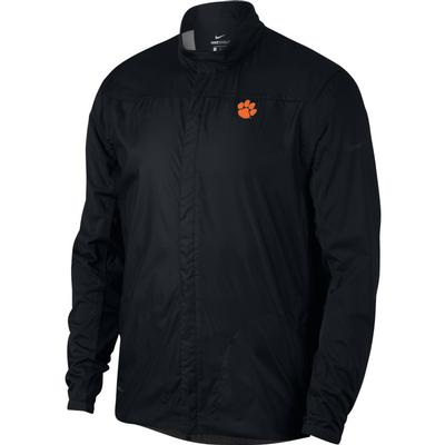 Clemson Nike Golf Men's Shield Golf Jacket BLACK