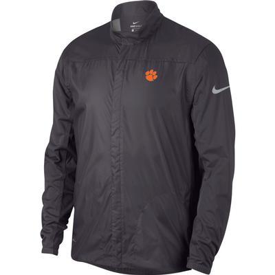 Clemson Nike Golf Men's Shield Golf Jacket GUNSMOKE