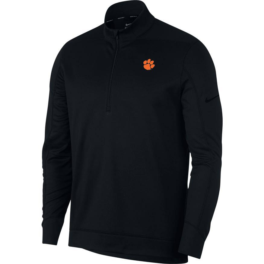 Clemson Nike Golf Therma Repel 1/2 Zip Pullover