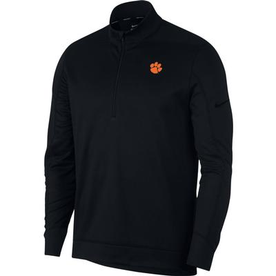 Clemson Nike Golf Therma Repel 1/2 Zip Pullover BLK