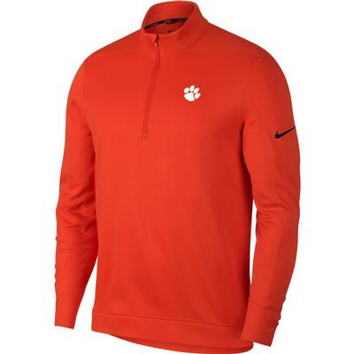 Clemson Nike Golf Therma Repel 1/2 Zip Pullover ORG