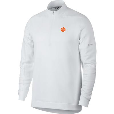 Clemson Nike Golf Therma Repel 1/2 Zip Pullover WHT