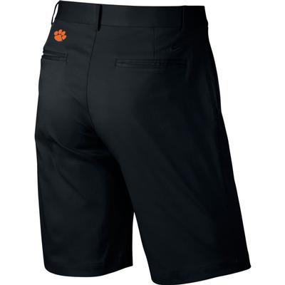 Clemson Nike Golf Flat Front Shorts BLACK