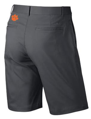 Clemson Nike Golf Flat Front Shorts DARK_GREY