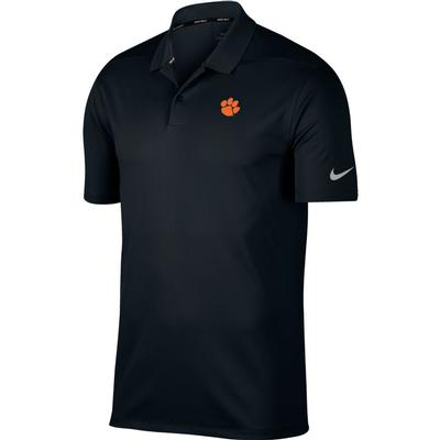 Clemson Nike Golf Dry Victory Solid Polo BLK