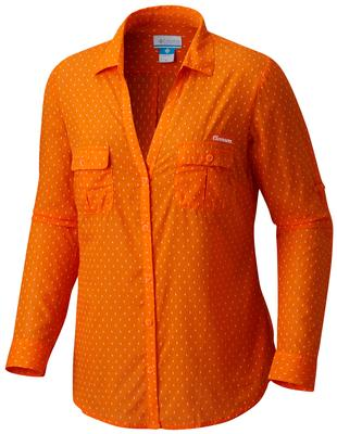 Clemson Columbia Women's Sun Drifter Long Sleeve Shirt
