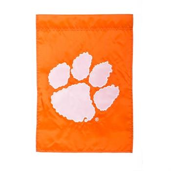 Clemson Applique Garden Flag