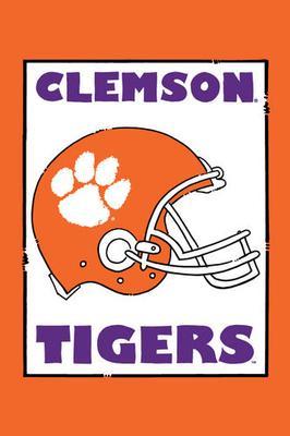 Clemson Magnolia Lane Helmet Garden Flag