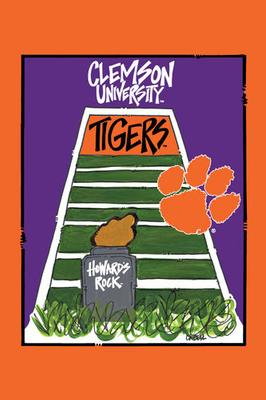 Clemson Magnolia Lane Memorial Stadium Garden Flag