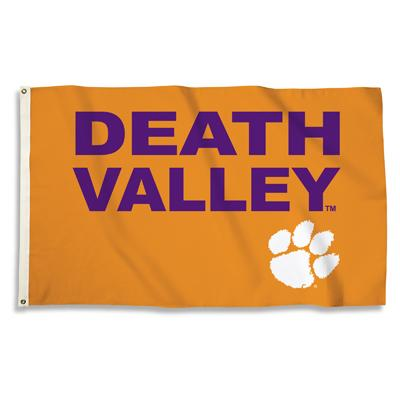 Clemson Death Valley House Flag